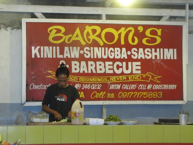 FTW! Blog - 8600: Beautiful Butuan | Baron's Kinilaw Sinugba Sashimi & Barbecue, #FTWblog, #FTWeats, #ZHEQUIAdotCom, #Barons, #8600Food #085FoodDrink, #ButuanCity #BaronsBBQ