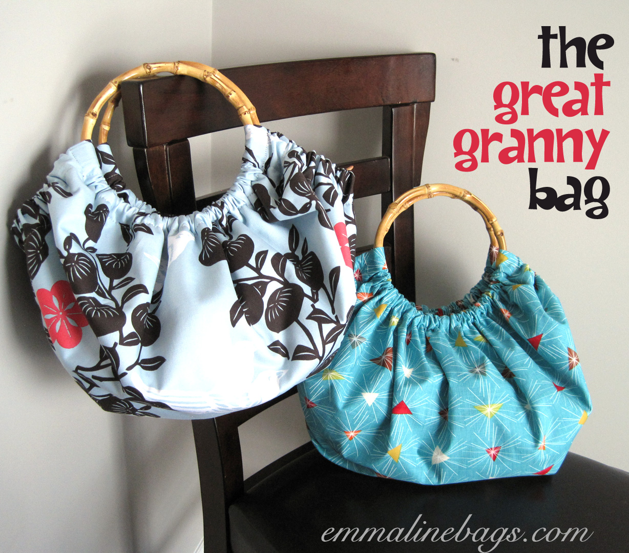 Bag 2 Is Made Of Quilting Cotton And A Bit Easier To Work With