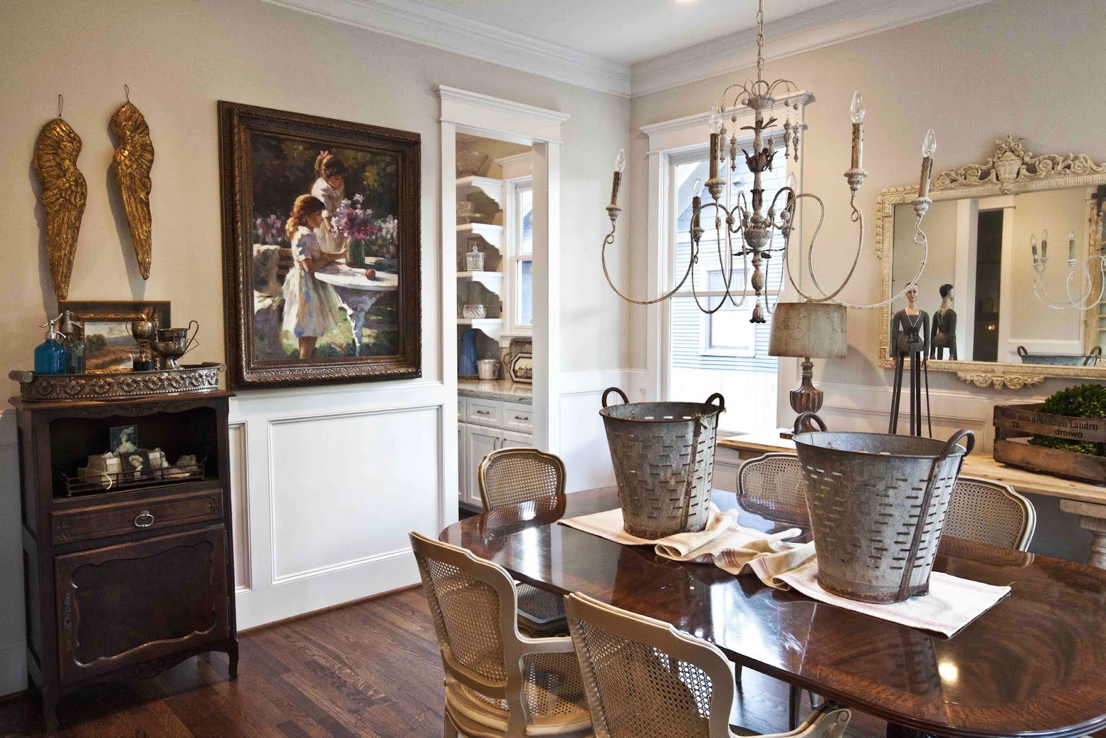 Farmhouse Dining Room Ideas: Farmhouse French Dining Room (New House)