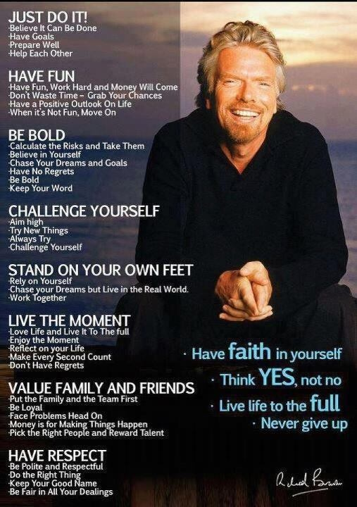 The Monday Peptalk - Richard Branson