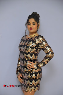 Actress Madhavi Latha Pictures in Short Dress at On Mona Birthday Premiere 0024