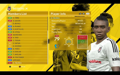 Option File PES 2016 Season 2016/2017 Terbaru