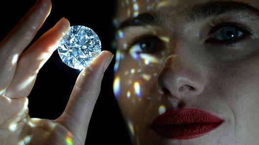 102.34 Carat White Diamond Being Sold For Over $33 Million