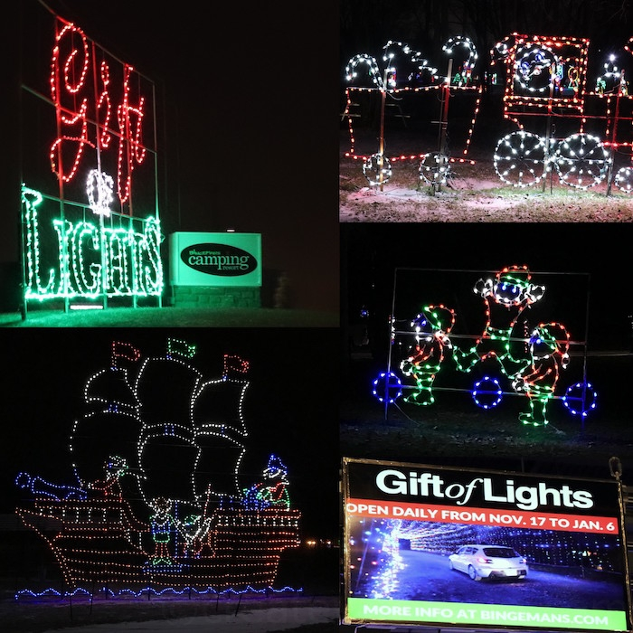 Create With Mom: Gift Of Lights And So Much More At Bingemans
