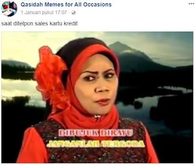 10 Meme Kocak 'Lirik Qasidah' yang Bikin Ketawa Ngakak
