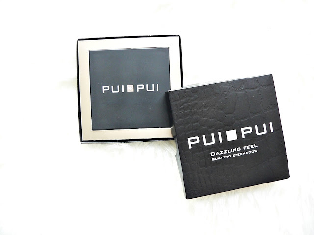 Pui Pui make-up | Blush & Eyeshadow Quattro review swatch
