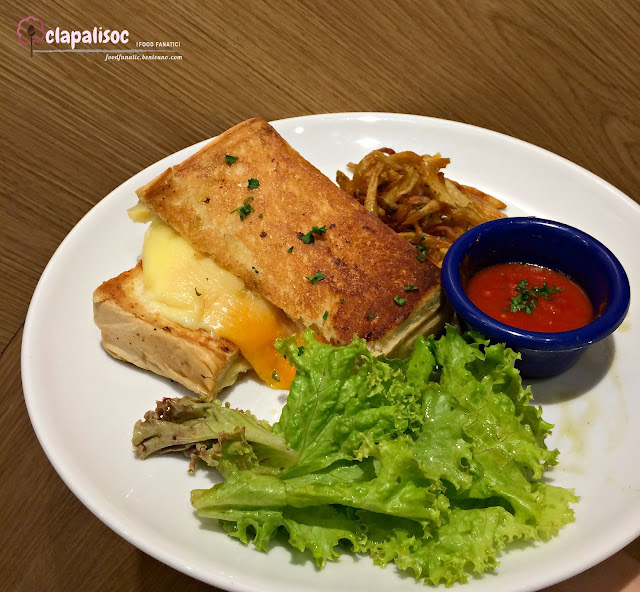 Grilled Cheese Sandwich from Little Owl