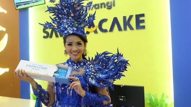 Savana Cake, kue oleh-oleh khas Banyuwangi.