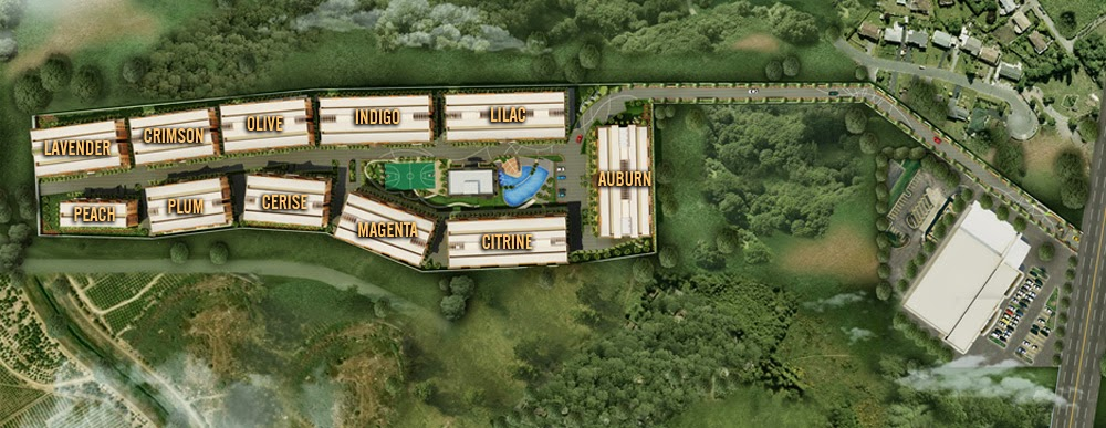 Siena Park Residences Site Development Plan