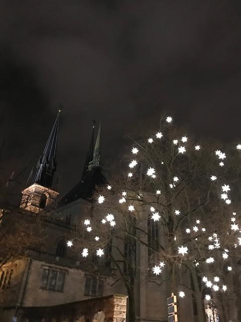 lussemburgo di sera