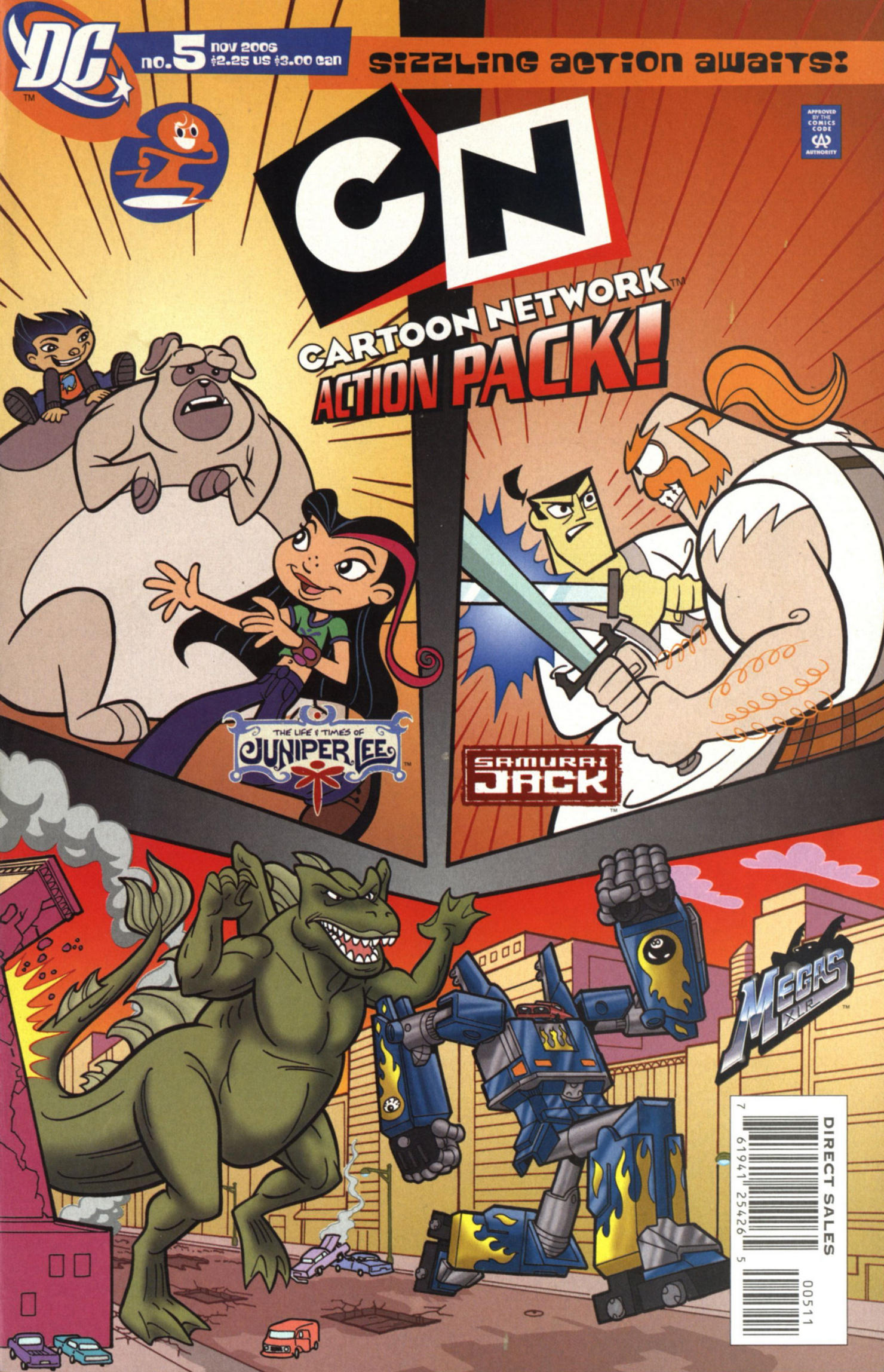 Cartoon Network Action Pack 5 Page 1