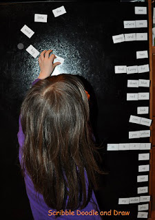 Learn to read by playing with magnetic sight words