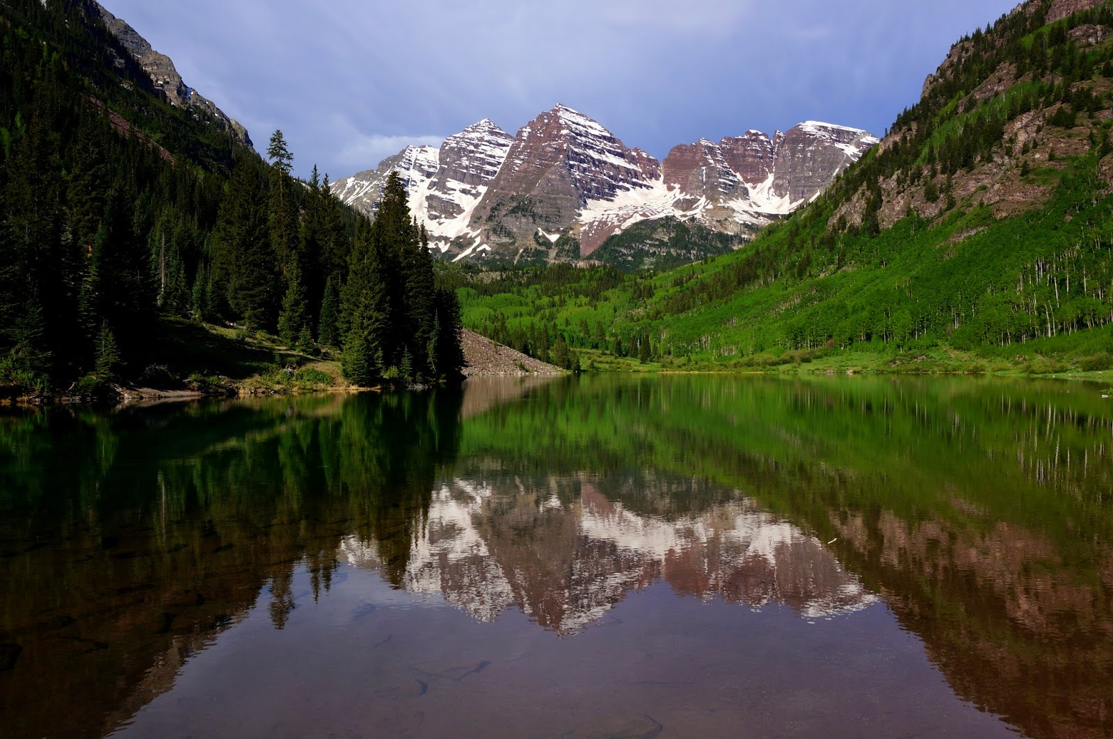 maroon bells lake at - photo #32