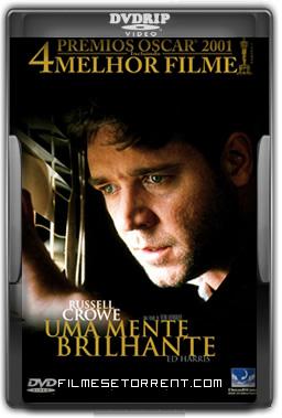Uma Mente Brilhante Torrent DVDRip Dual Áudio 2001