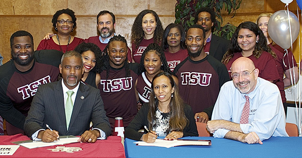 Texas Southern University low income students