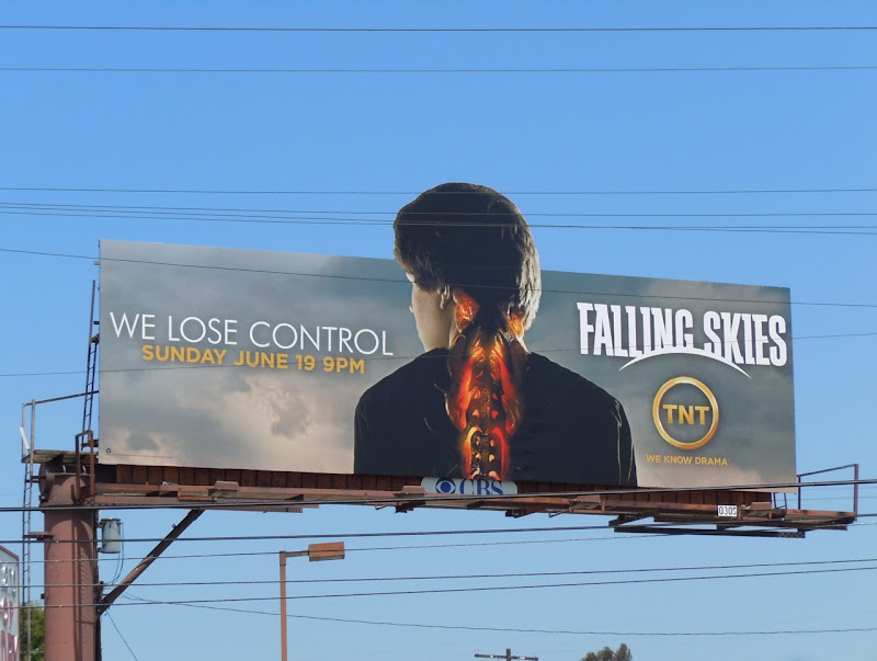 Falling Skies TNT billboard
