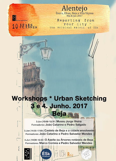 10 years 10 classes - Workshops de Beja