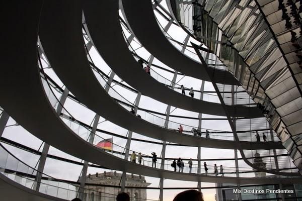 Cúpula del Reichstag de Berlín