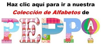 Abecedarios de Peppa Pig