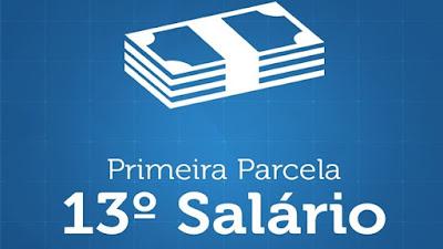 Primeira parcela do 13° salário pode ser paga até dia 30 de novembro