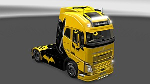 Batman Volvo 2013 skin