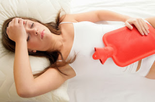 What causes cramps during periods