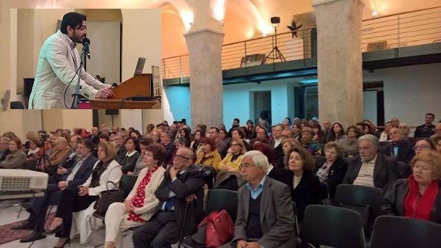 Ο Αλέξανδρος Ν. Μουσούρος, «κέρδισε» το δύσκολο κοινό με την ομιλία του στο Βουλευτικό.