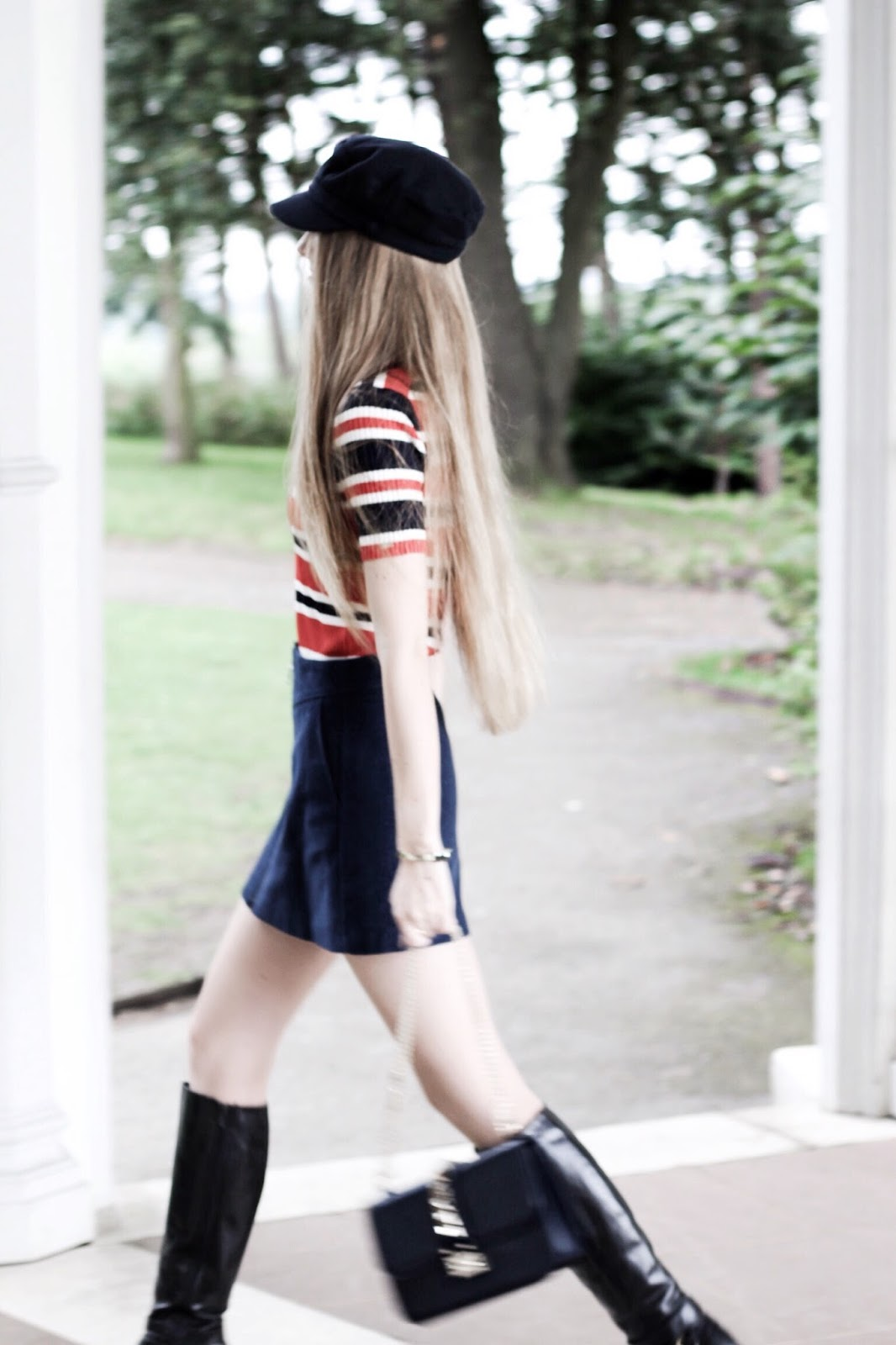 UK Fashion Blogger Baker Boy Hat Styling