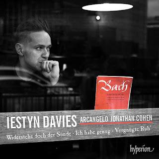 Iestyn Davies - Arcangelo, Jonathan Cohen - Hyperion