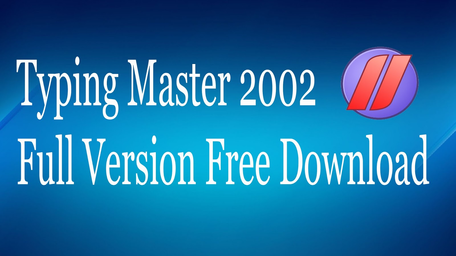 Typing Master 2002 free download