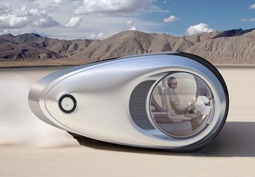 Tecnoneo Autocaravana Futurista Ecco
