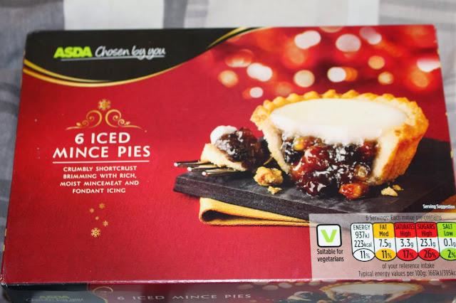 Asda's Iced Mince Pies
