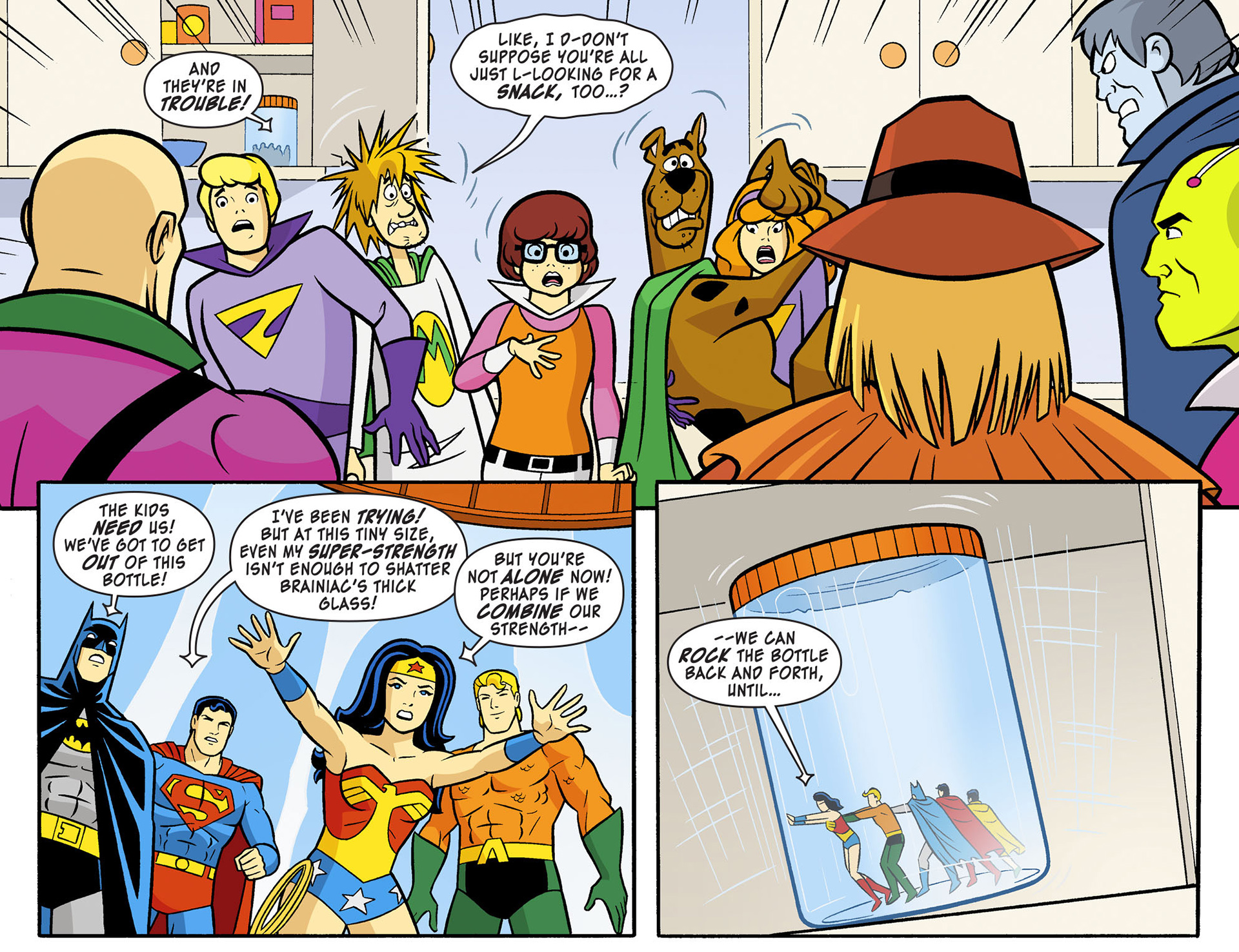Read online Scooby-Doo! Team-Up comic -  Issue #12 - 12
