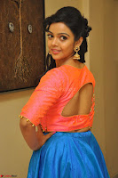 Nithya Shetty in Orange Choli at Kalamandir Foundation 7th anniversary Celebrations ~  Actress Galleries 060.JPG