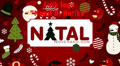 Lirik lagu Natal Di Hatiku
