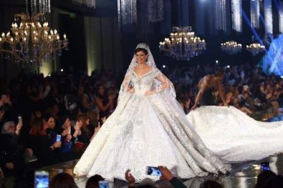 فساتين زفاف اشهر مصممين الازياء فى الوطن العربى