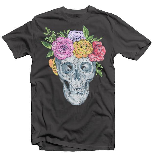 skull head design
