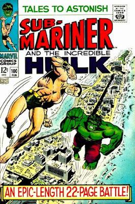 Tales to Astonish #100, Hulk vs Sub-Mariner