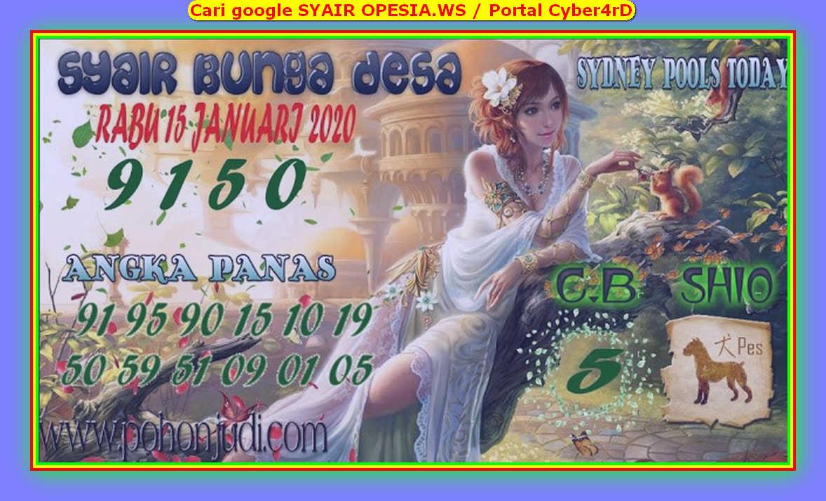Kode syair Sydney Rabu 15 Januari 2020 133