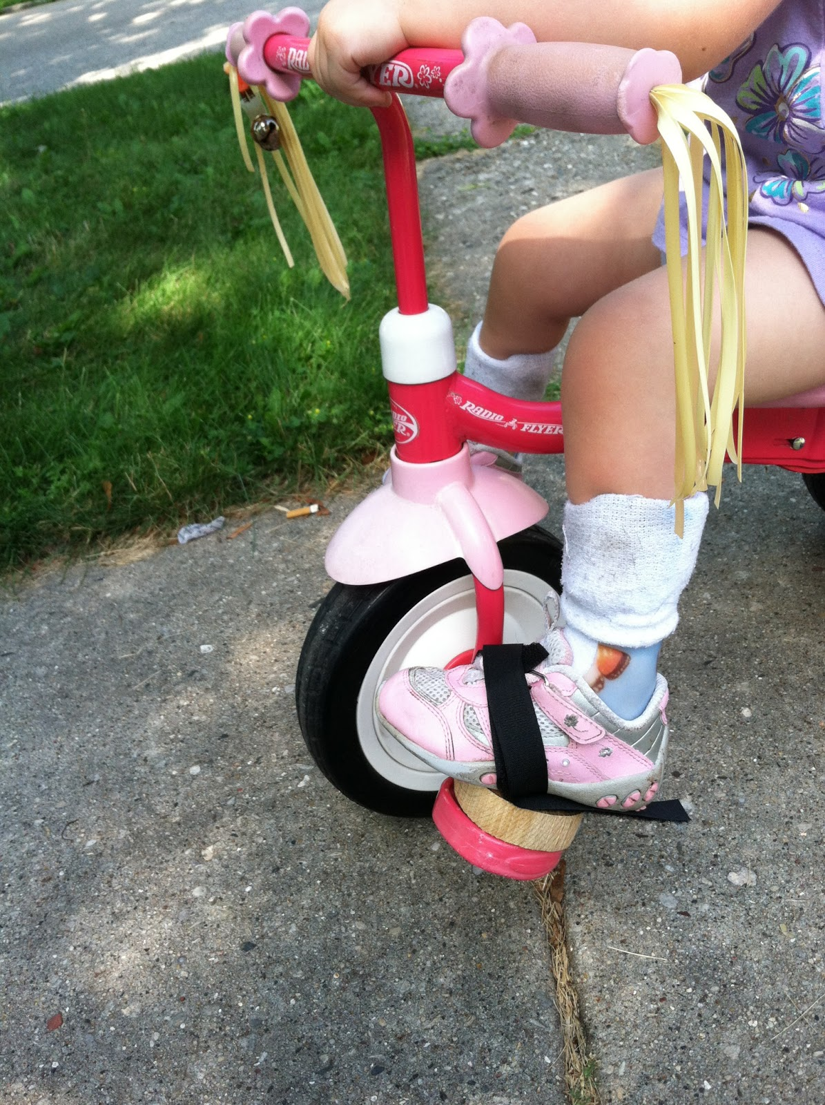 Rachel S Journey With Spina Bifida Foot Pedal Riser For