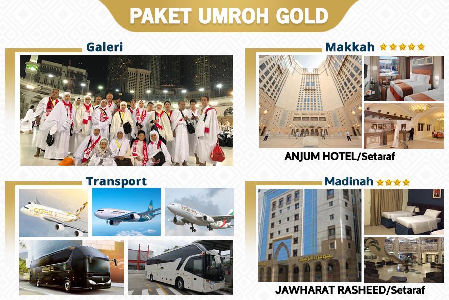 Paket Umroh Akhir Ramadhan Gold Biaya Murah