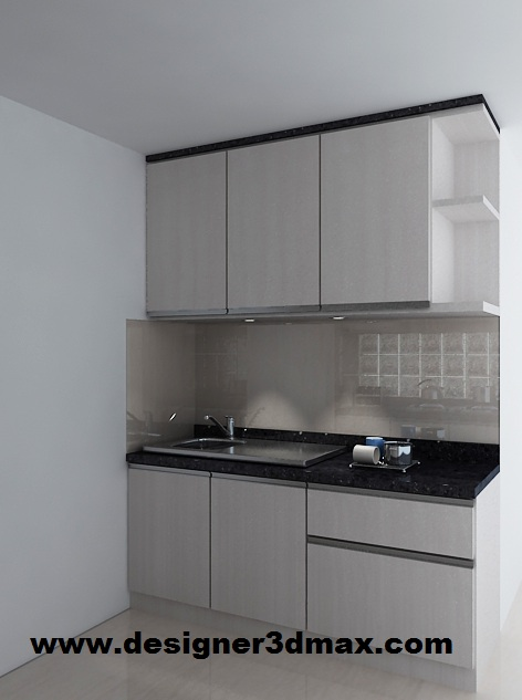 Kitchen Kabinet Dapur Kecil Desainrumahid