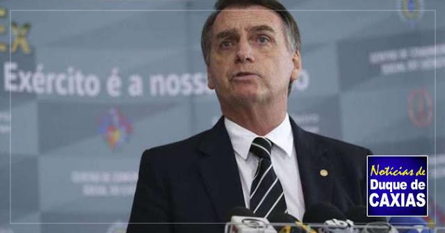 Presidente Bolsonaro participa de inauguração de escola para filhos de PMs em Duque de Caxias
