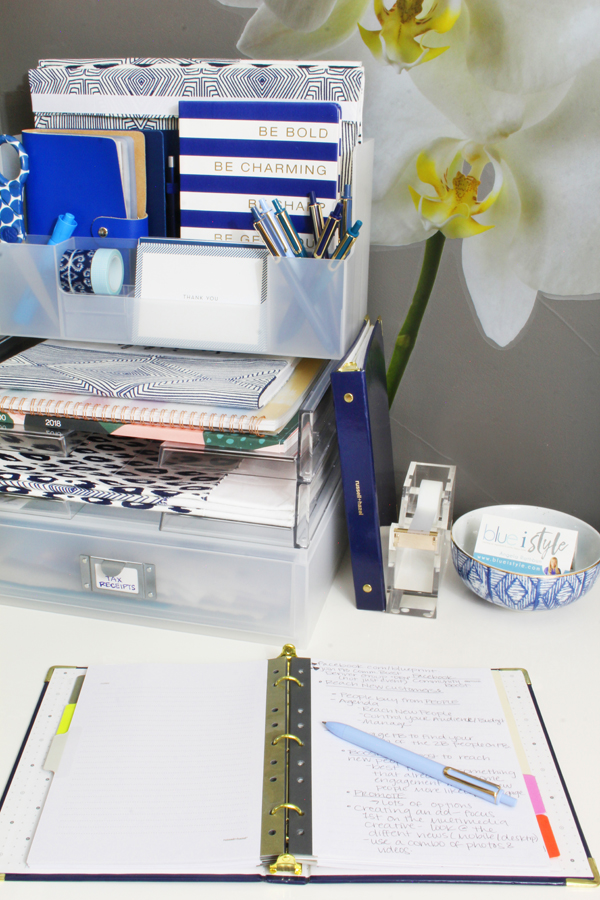 Home Office Ideas for Small Spaces Blue i Style - Creating an
