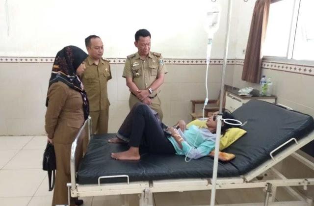 Wanita Asal Lombok terlantar di Lampung, Kini Dirawat di RSUD Sukadana