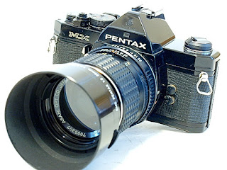 Pentax MX, Top right view