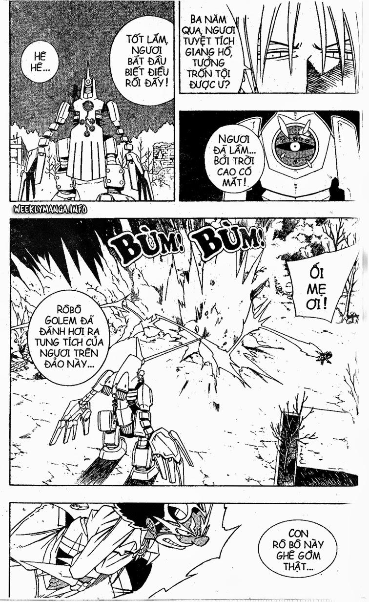 Shaman King [Vua pháp thuật] chap 191 trang 7