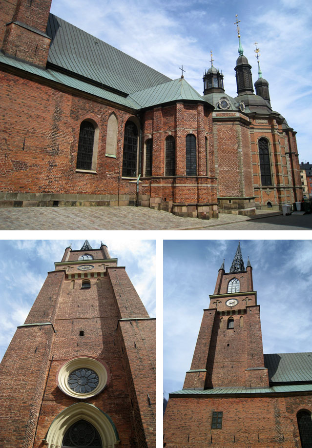 La iglesia de Riddarholmen