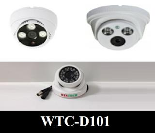 Camera AHD WinTech WTC-D101 Độ phân giải 1.0 MP