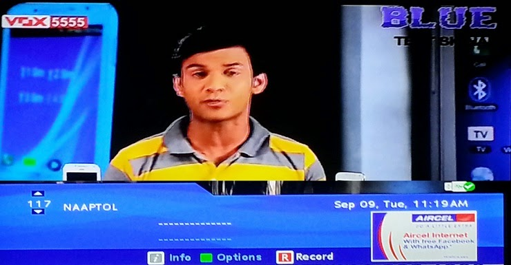 Naaptol Shopping Channel added on Dish TV